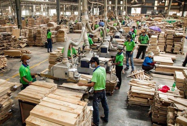 hút bụi gỗ trong sản xuất