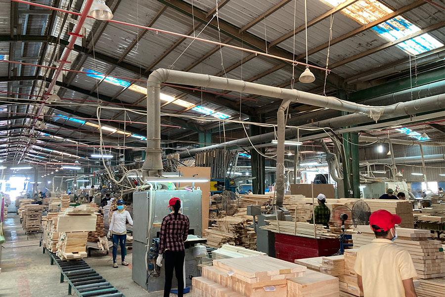 dự án thực tế lắp đặt hệ thống hút bụi gỗ