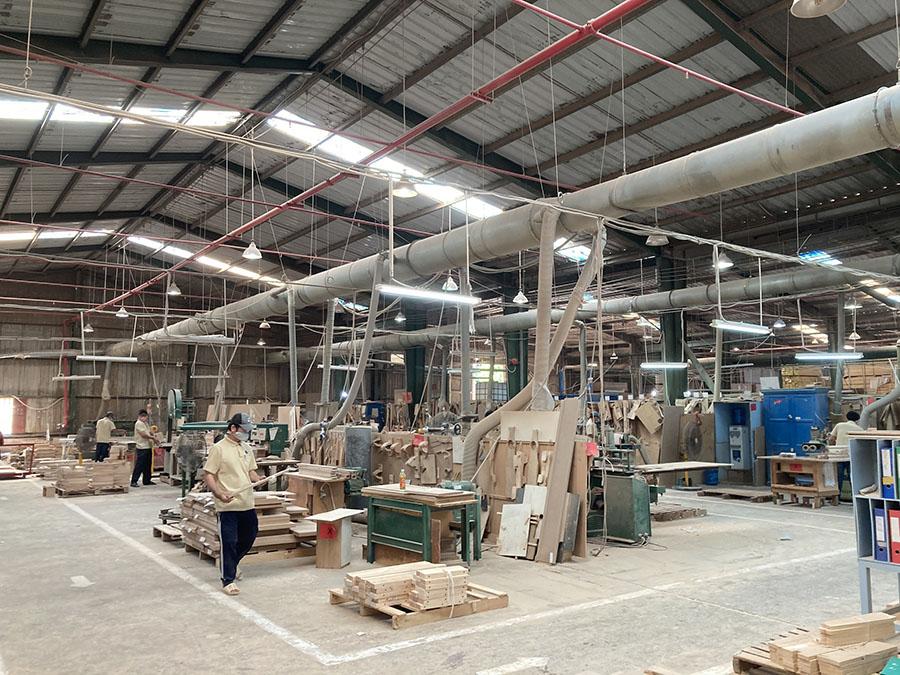 dự án thiết kế hệ thống hút bụi nhà máy