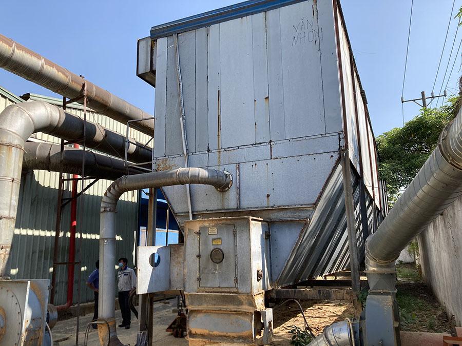dự án thực tế thi công hệ thống hút bụi gỗ