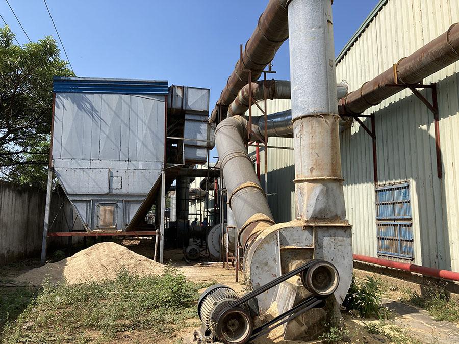 dự án lắp đặt hệ thống hút bụi nhà máy