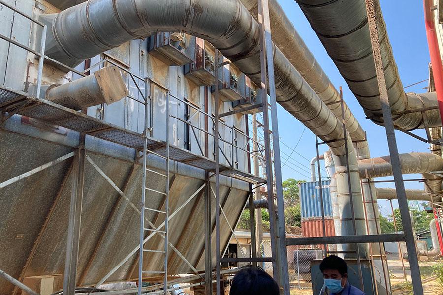 dự án lắp đặt hệ thống hút bụi gỗ