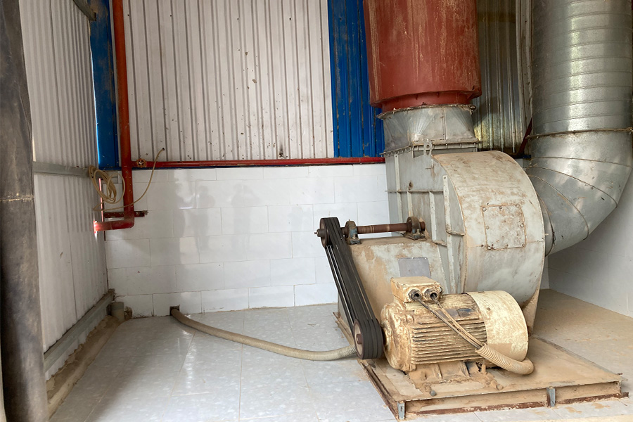hệ thống hút bụi gỗ tại bình dương